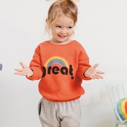 $enCountryForm.capitalKeyWord Australia - Toddler clothes striped sweatshirt kids t shirt tops baby clothing sweatshirts child christmas products children clothes costumes 2019 Fall