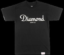 $enCountryForm.capitalKeyWord Australia - DIAMOND SUPPLY CO CHAMPAGNE SCRIPT T-SHIRT MEN SKATEBOARD TOP DMND BLAFashion TEE