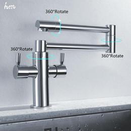 $enCountryForm.capitalKeyWord Australia - hm Kitchen Sink Faucet Stretch Folding Bathroom Kitchen Mixer Taps Deck Mounted Dual Handle Luxury Copper Faucet Kitchen Faucets 20170805#