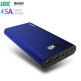 $enCountryForm.capitalKeyWord Australia - Wholesale 20000mah power bank 3 input 3 output fast charging mobile charger VOOC DASH SCP FCP QC3.0 quick charge power bank