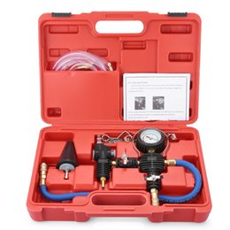 Bmw diagnostic kit online shopping - Auto Coolant Vacuum Kit Cooling System Radiator Set Refill and Purging Tool Universal for automotive cooling systems leak test