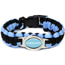 $enCountryForm.capitalKeyWord Australia - American Athletics LEAGUE Carolina football teams survival paracord bracelets bangles for fans gifts