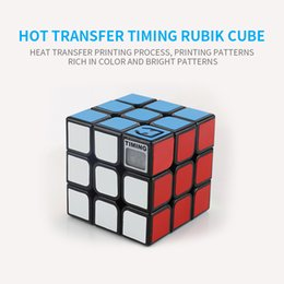 $enCountryForm.capitalKeyWord NZ - Color box Adult and Children Educational Toys Timing Magic Cube Professional Speed 3x3 Puzzle Cube Toys black or white