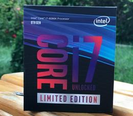 Intel Intel Core i7-8086K / 9700K / i9-9900K procesador de caja CPU segundos i59600K en venta