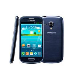 Mini caMera 3g online shopping - Samsung I8190 Galaxy SIII Phone S3 mini G WCDMA Wifi GPS MP Camera mAh Andorid Dual Core Touch Screen Original Refurbished Smartphone
