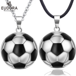 football pendants NZ - wholesale Angel Caller Football Pregnancy Chime Ball Harmony Mexcian Bola Ball Necklace Pendant Wishing Ball Jewelry Gift N14NB334