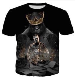 $enCountryForm.capitalKeyWord NZ - Boxing Champion Popular Conor Mcgregor Newest Hot Fashion T Shirt 3D Print Men Womens Summer Round Collar Short Sleeve Casual Tops U1610