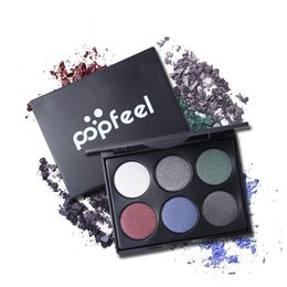 Beauty & Health 1pcs 6 Color Liquid Eyeshadow Sand Drift Dish Eye Makeup Waterproof Mineral Powder Shimmer Eye Shadow Make Up Cosmetics Eye Shadow
