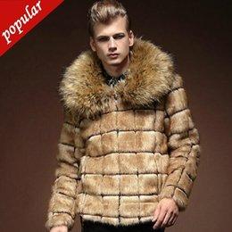 $enCountryForm.capitalKeyWord Australia - Winter Man's Fake Fox Sweater Sweater Size Of Man's Fake Coat