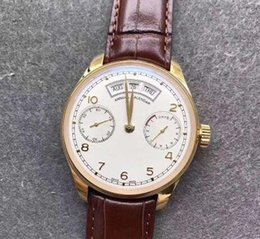 $enCountryForm.capitalKeyWord NZ - Kung Fu Watch Factory Create High Quality Automatic Mechanical Movement Men's Watch Real Momentum Calendar Month Week IW503504 Men's Watch