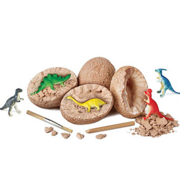 Jurassic World Dinosaur Eggs Dig Up Kit Discover Dinosaur Fossil Eggs Kids Archaeology Learning Toys Science STEM Gifts on Sale
