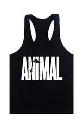 $enCountryForm.capitalKeyWord Australia - 2019 new Animal Stringers Mens Tank Tops Sleeveless Shirt,tanktops Bodybuilding And Fitness Men's Singlets Workout Clothes