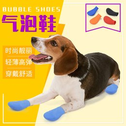 $enCountryForm.capitalKeyWord NZ - Wholesale Pet Puppy Boots Waterproof And Snow-Proof Shoes Dog Shoes Non-Slip Silicone Rain Boots Four Seasons Universal Pet Supplies