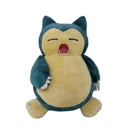 $enCountryForm.capitalKeyWord Australia - New Toy Snorlax Pikachu Soft Doll Plush Toy For Kids Christmas Halloween Best Gifts 8inch 20cm