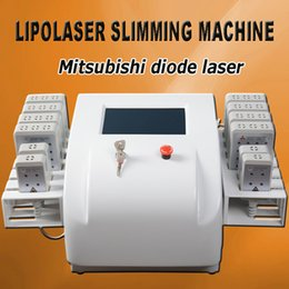 weight loss machines for home use 2019 - Diode Lipo Laser Mitsubishi diode laser ML101J27 lipolaser body slimming machine laser weight loss machine for home use