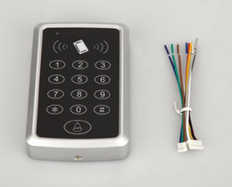 Rfid ReadeR keypad online shopping - Plush Waterproof Contactless Single Door Keypads ID EM Passwords RFID Door Access Control Reader For Time Attendance System users D114