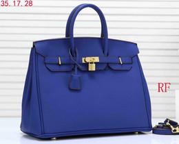 Platinum Ladies Handbags Australia - high quality 35CM women's platinum handbags leather lady totes bag gold hardware with lock satchel purse free shipping 18622