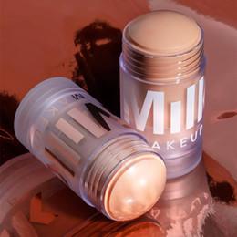 Color Mixing Light Bulbs Australia - HOT Milk Makeup Blur Stick 2 color Foundation fond de teint Primer Concealer Maquillage drop shipping