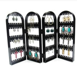 $enCountryForm.capitalKeyWord Australia - Fashion 42*28cm Creative Screen Jewelry Rack 240 Holes Plastic Ear Nails Earrings Display Frame Receiving Box Home furnishing 1pc C171