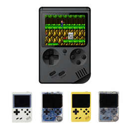 $enCountryForm.capitalKeyWord NZ - Coolbaby Upgrade RS-6A Can Store 168 games Retro Portable Mini Handheld Game Console 8-Bit 3.0 Inch Color LCD Game Player For FC Game