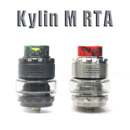 Discount new rta tank - New stock Kylin M RTA Tank 3ml 4.5ml Atomizer Electronic Cigarette Vape Vaporizer Mod