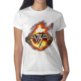 $enCountryForm.capitalKeyWord Australia - Van Halen logo 4 white t shirt,shirts,t shirts,tee shirts printing funny superhero friends athletic t shirt