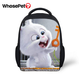 girls kindergarten bags NZ - WHOSEPET The School Backpack Cartoon School Bag Kindergarten Bookbag Baby Girls Backpacks Children Daily Bag