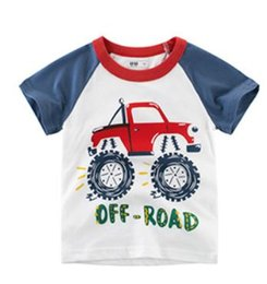 $enCountryForm.capitalKeyWord Australia - Summer Boys Short Sleeve T-shirt, Cotton Children Wear Children's Clothing, a Hair Generation ins Round collar