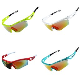 $enCountryForm.capitalKeyWord Australia - New 1 pair Outdoor Sport Glasses Cycling Eyewear Bicycle Glass MTB Bike Bicycle Riding Fishing Cycling Sunglasses for Men Women