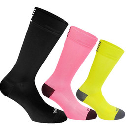 Discount race bike brands - High Quality Professional Cycling Socks Men Women Road Bicycle Socks Outdoor Brand Racing Bike Compression