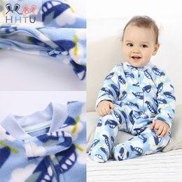 $enCountryForm.capitalKeyWord Australia - Hhtu 2017 Newborn Infant Rompers Jumpsuit Cute Clothes Baby Boys Girls Fleece Baby Costumes Clothing For Autumn Winter J190526