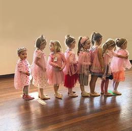 $enCountryForm.capitalKeyWord Australia - Wholesale Seaside Fairy Cloak For Children Girls Birthday Christmas Sequins Pom pom Star Heart Mesh Thin Poncho E1120