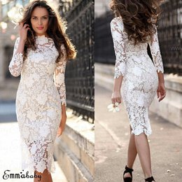 $enCountryForm.capitalKeyWord Australia - Women Lace Bodycon Dress Party Evening Formal Pencil Dress Floral Sexy Women Elegant Summer Sexy Vestido Fashion