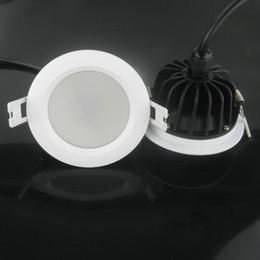 IP65 imperméable LED a enfoncé les montages de plafonniers de plafonniers de 7w 9w 12w 15w Dimmable chaud / blanc froid en Solde