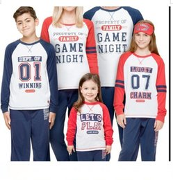$enCountryForm.capitalKeyWord Australia - Family Warm Wear Suit Tops + Pants Casual Spring Fashion New European and American Women's DParentage Suit Cotton Pajamas Package The