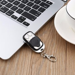 $enCountryForm.capitalKeyWord Australia - 433MHz-434MHz Gate Garage Door Remote Control ABCD 4 Channel Electric Wireless RF Control Cloning Code Key Fob Controller DC12V