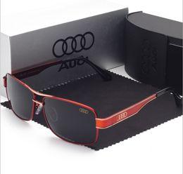 Discount frogs sunglasses - Audi Driver Sunglasses Polarized UV380 Alloy Designer Sunglasses Outdoor Driving Riding Anti-radiation Frog Sunglasses F