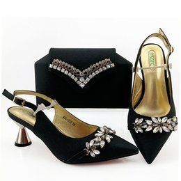 ShoeS purSe match online shopping - 2019 Fsaion Latest Italian Shoe and Bag Set High Heel Shoes With Matching Bag shoes and matching purse for women party or wedding