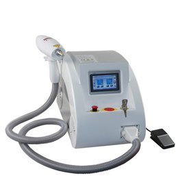 Hot selling Q switched nd yag laser beauty machine for tattoo removal acne scar spider vein removal carbon peeling 532nm 1320nm 1064nm on Sale