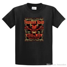 $enCountryForm.capitalKeyWord Canada - Hot Sale Fashion Thunder Road Motor Oil Mens Printed Tees Reg to Big and Tall Sizes Port and Co T-Shirt men t shirt Tops Tees