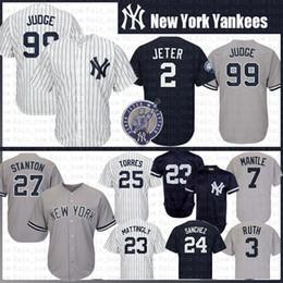 87d3a3984df Yankee York online shopping - new Aaron Judge New York Yankees Baseball  Jerseys Derek Jeter Don