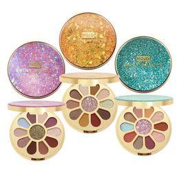 $enCountryForm.capitalKeyWord Australia - Quicksand Makeup Eye Palette 11 Color Glitter Eyeshadow Matte Shimmer Pigmented Eye Shadow Powder with mirror