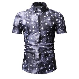 3b9212aad Mens Beach Hawaiian Shirt Tropical Summer Short Sleeve Shirt Men Brand  Clothing Casual Loose Cotton Button Down Shirts Plus Size