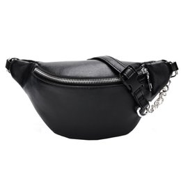 $enCountryForm.capitalKeyWord Australia - Women Chest Bags Fashion Chain Leather Messenger Bag Shoulder Bag Female Large Capacity Zipper Phone Money Waist Packs #yl5