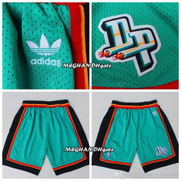 eb61f9d9d8c Men Detroit   Pistons Retro Grant Hill Pants Mitchell   Ness Short Blake  Griffin Breathable Sweatpants Team Classic Sportswear Wear Shorts