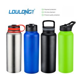 $enCountryForm.capitalKeyWord Australia - 2017 New Stainless Steel Water Bottle Insulated Wide Mouth Thermal Flask For Outdoor Travel Bottles Of Water 1000ML BT0009