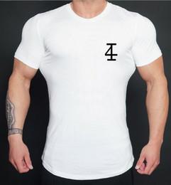T Shirt Digital Printing Sport Australia - 2019 new fashion gym Men's Fitness Sports Leisure Fashion Tight Elastic Fast-drying Short Sleeve 4 Digital Printed T-shirt gym t-shirt