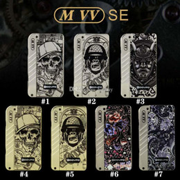 Metal Lighting Fittings Australia - Authentic Dovpo M VV Box Mod with 4 LED Indicator Lights Fit Two 18650 Battery 510 Thread 0.1ohm Atomizers 100% Genuine 2203024