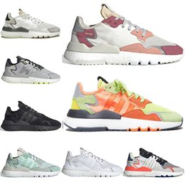 $enCountryForm.capitalKeyWord Australia - jogging nite jogger tennis running shoes mens trainers joggers 3M Reflective TRACE PINK road safety white black breathable womens sneakers