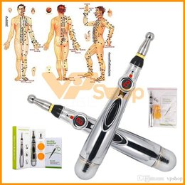 $enCountryForm.capitalKeyWord Australia - Electronic Acupuncture Pen Electric Meridians Massage Pen Laser Therapy Heal Meridian Energy Pen Relief Pain Tools